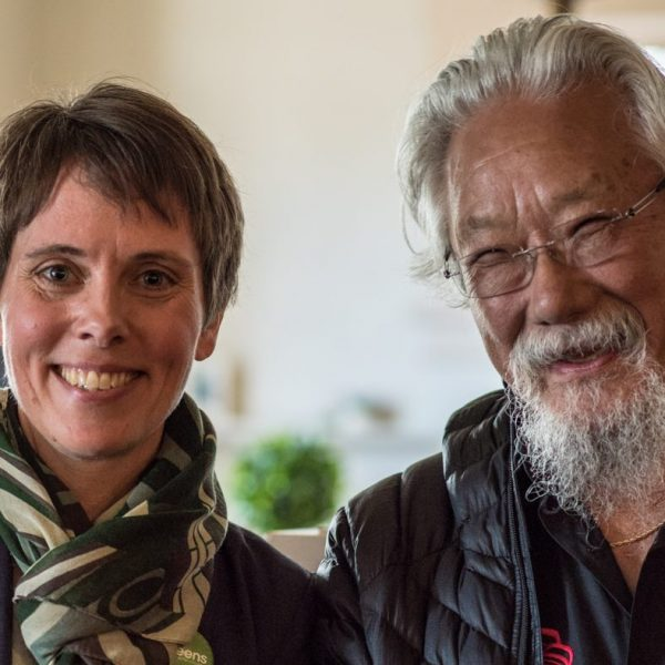 David Suzuki supports Furstenau's candidacy and four-day work week proposal